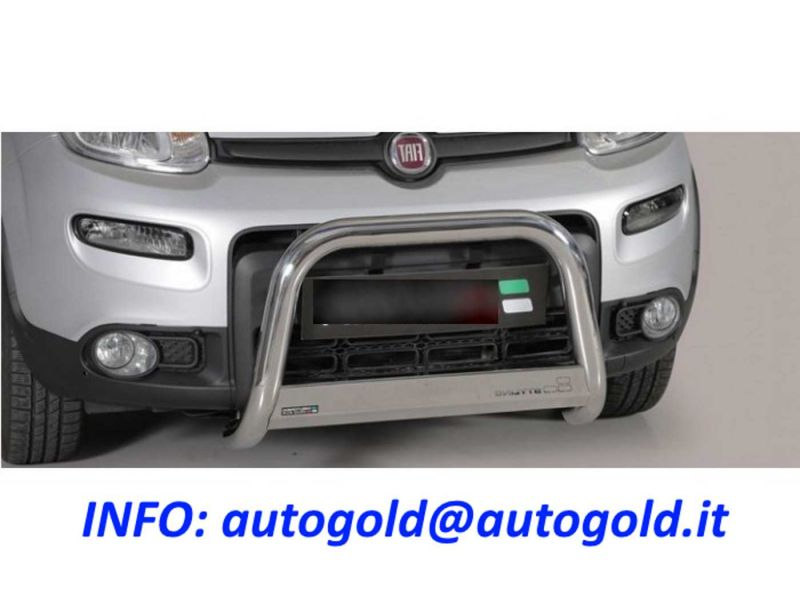 PARAURTI ANTERIORE NERO FIAT PUNTO III SERIE DAL 2003 TOP QUALITY