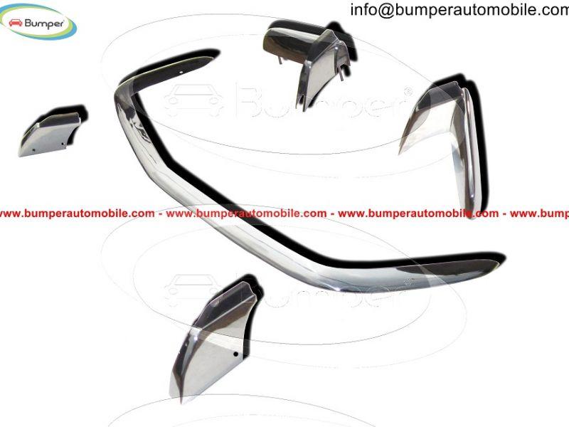 Per OPEL VIVARO 2001-2014 paraurti in acciaio inox Chrome