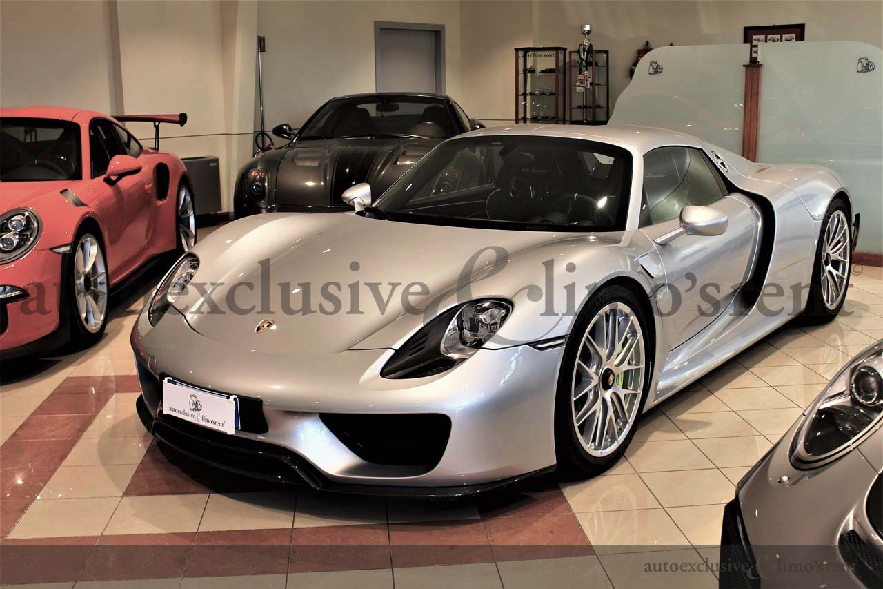 Porsche 918 Spyder For Sale >> For Sale Porsche 918 Spyder Weissach Package