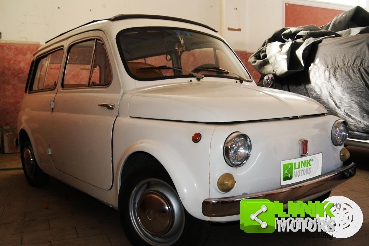 For Sale Fiat 500 Giardiniera From 1969 Perfectly Suited