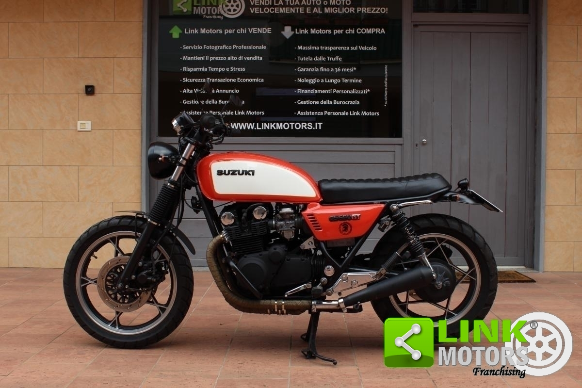 For sale SUZUKI GS650 GT SCRAMBLER 1984 - ASI ENTERED