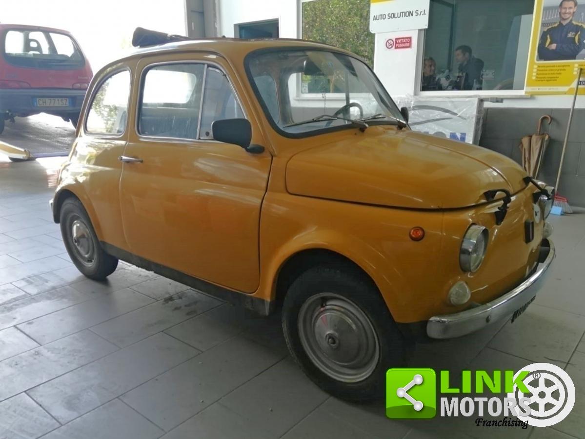 For Sale Fiat 500 L 110 F Sedan Epoca 1971