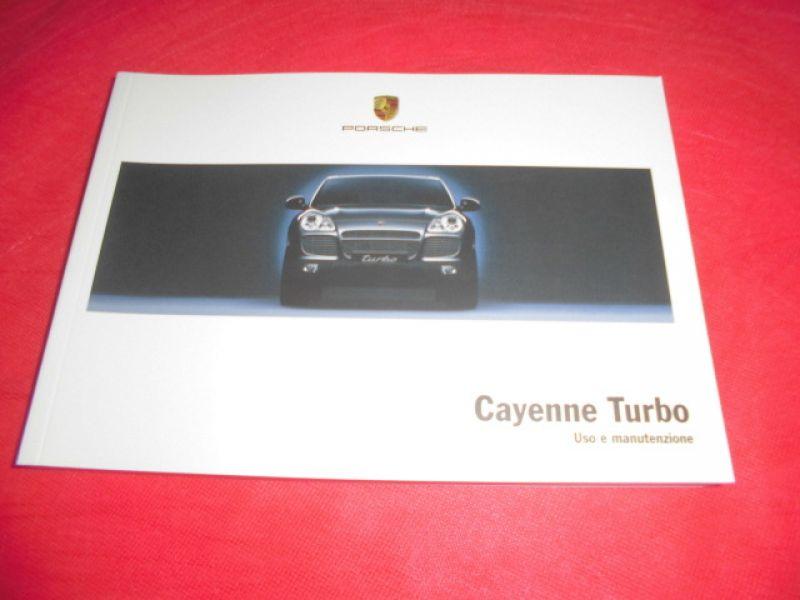 porsche cayenne turbo use and maintenance manual