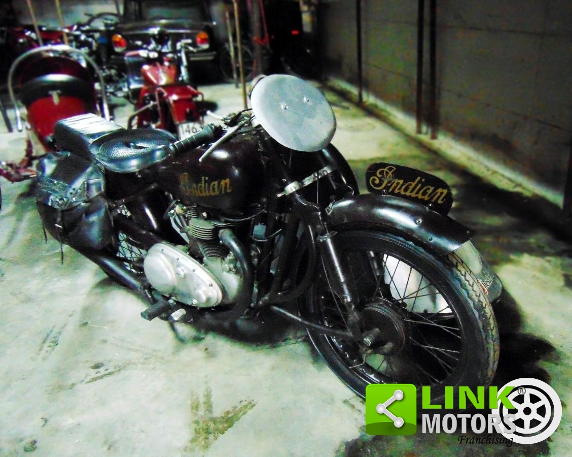 For sale Indian Scout 440, Sidecar cross, 1950, perfectly preserved, bial  engine