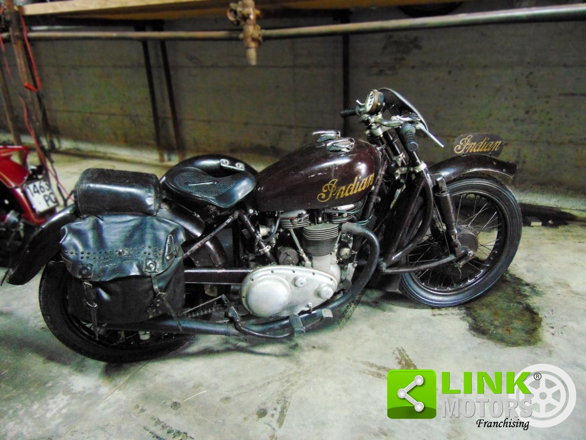 For sale Indian Scout 440, Sidecar cross, 1950, perfectly