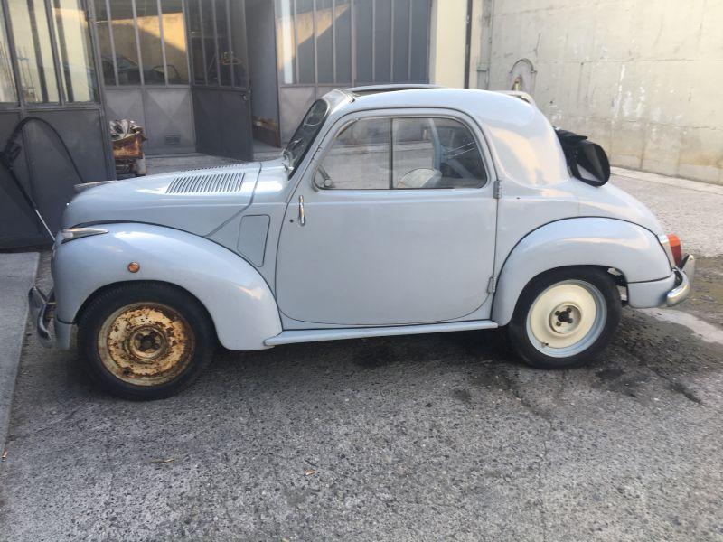 FIAT 500 C TOPOLINO BELVEDERE ANELLO TENUTA PARAOLIO VOLANO