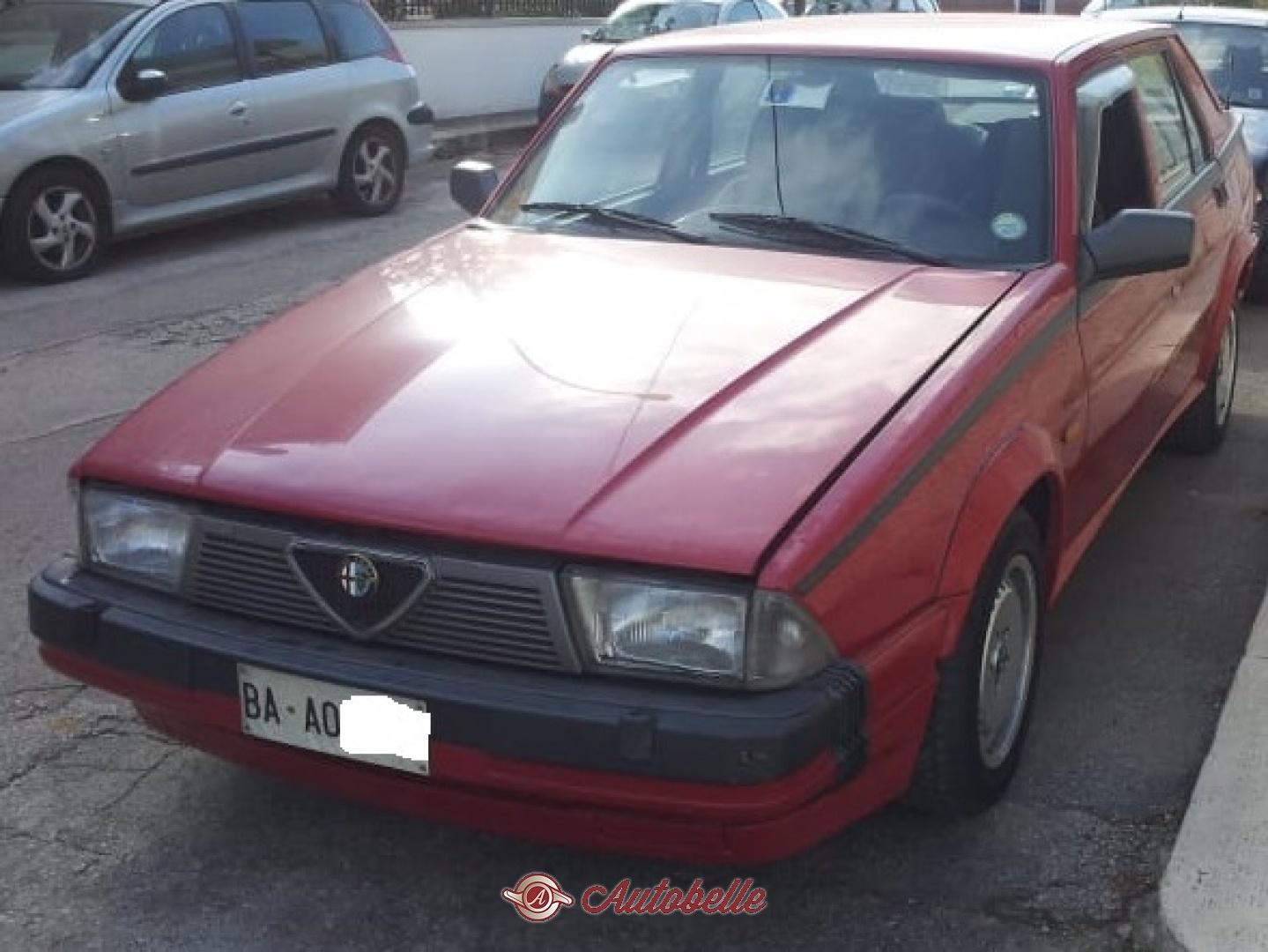 For Sale Alfa Romeo 75 1 8 Turbo America