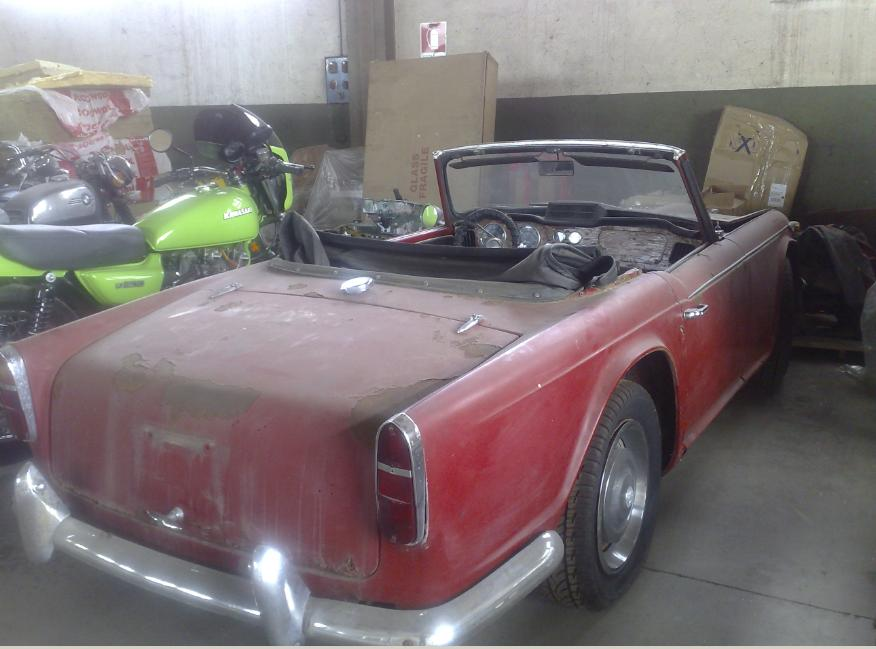 For Sale Triumph Tr4 Irs From Restauration