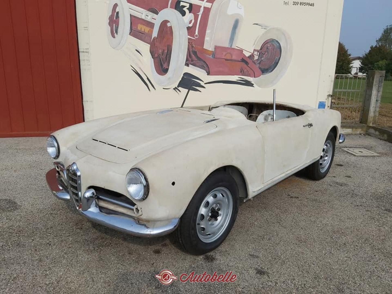 For Sale Alfa Romeo Giulia Spider To Be Restored