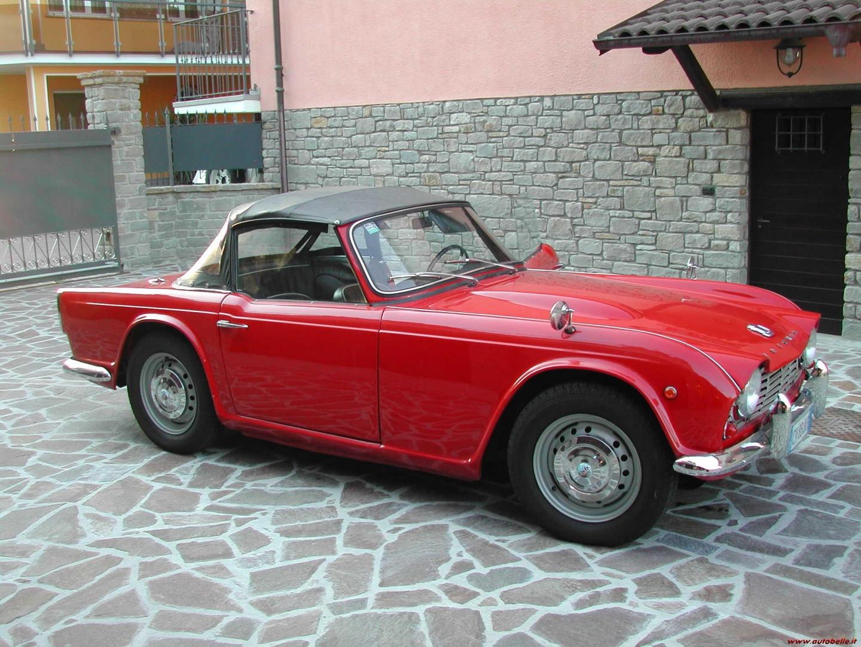 For Sale 1963 Triumph Tr4